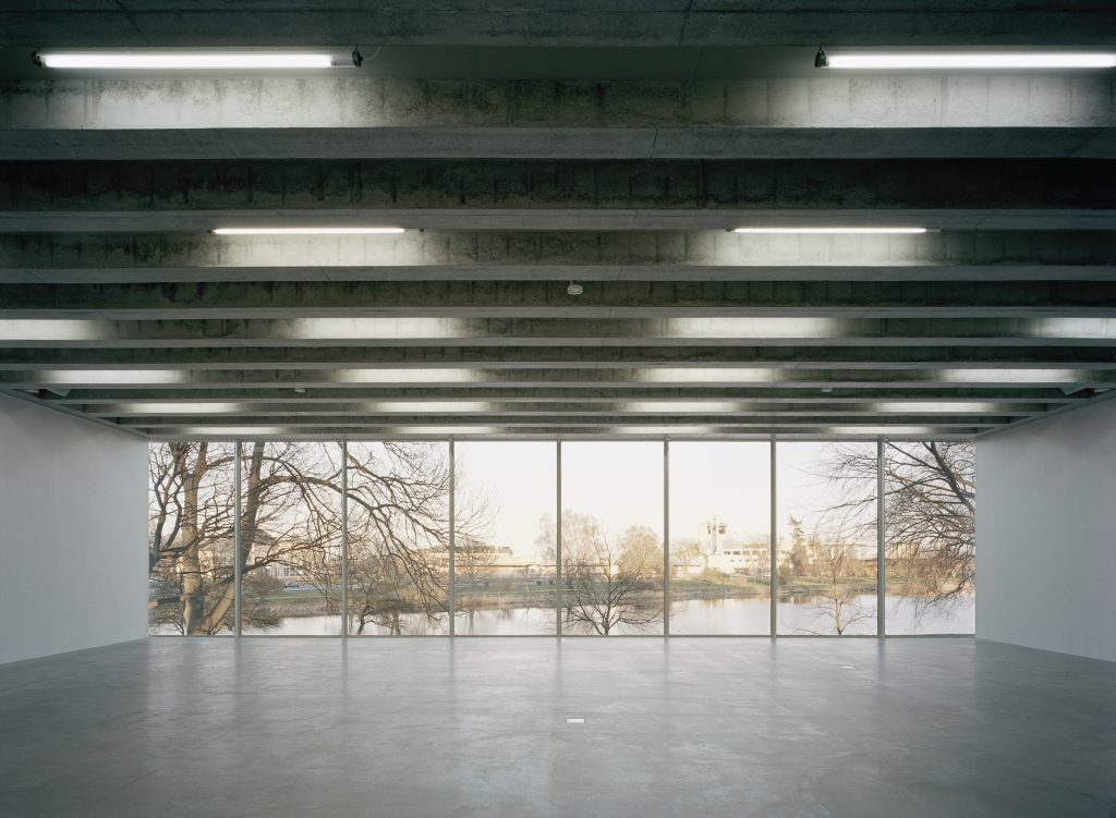 Kalmar Konsthall interiör (foto: Åke E:son Lindman)